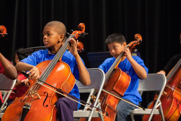 La formation musicale accélère le développement cérébral des enfants